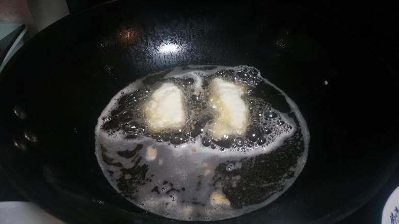面粉煎咸肉的简单做法