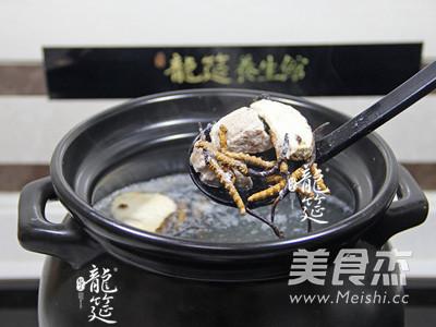 虫草瘦肉养生汤的简单做法