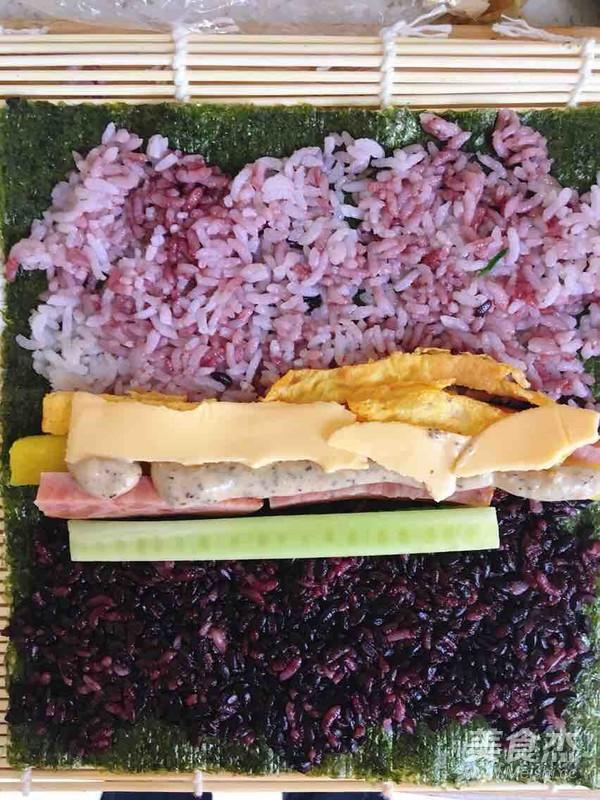 紫菜包饭的制作方法