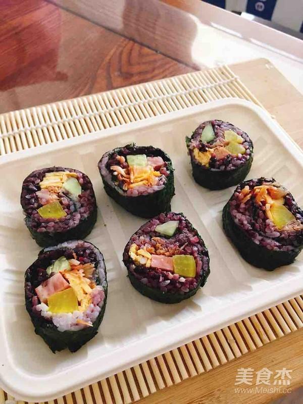 紫菜包饭的做法大全