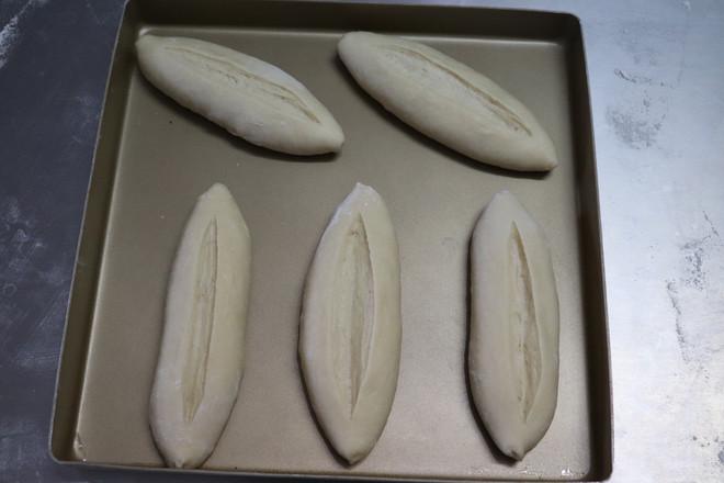 葱香黄油包的制作