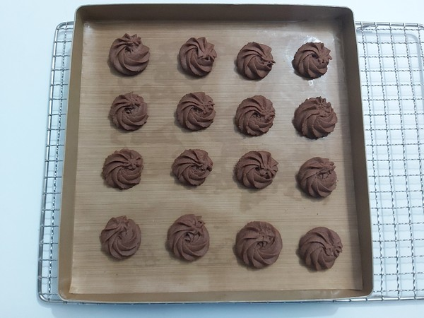 巧克力曲奇的制作方法