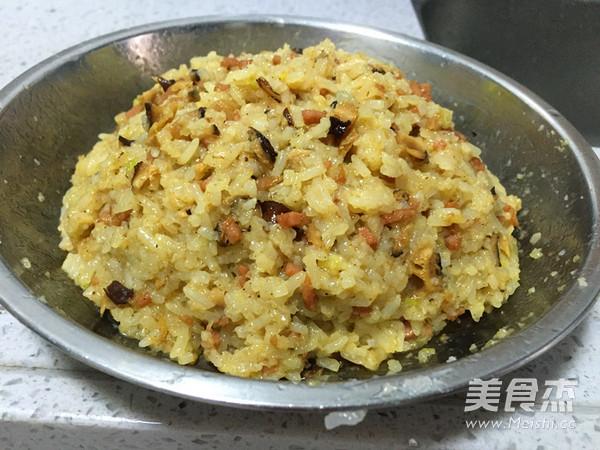香肠糯米饭的家常做法