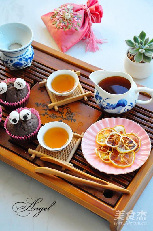 柠檬红茶成品图
