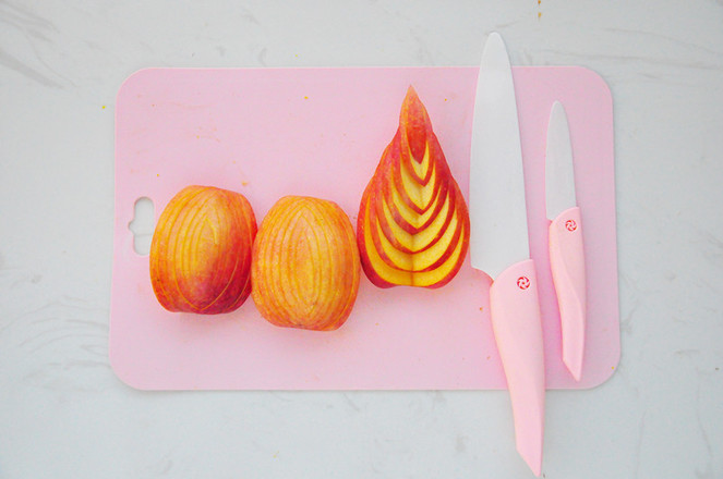 苹果橙子水果拼盘怎么做