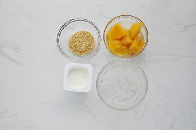 黄桃酸奶的做法大全