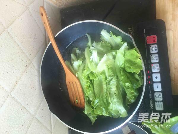 白灼生菜的家常做法