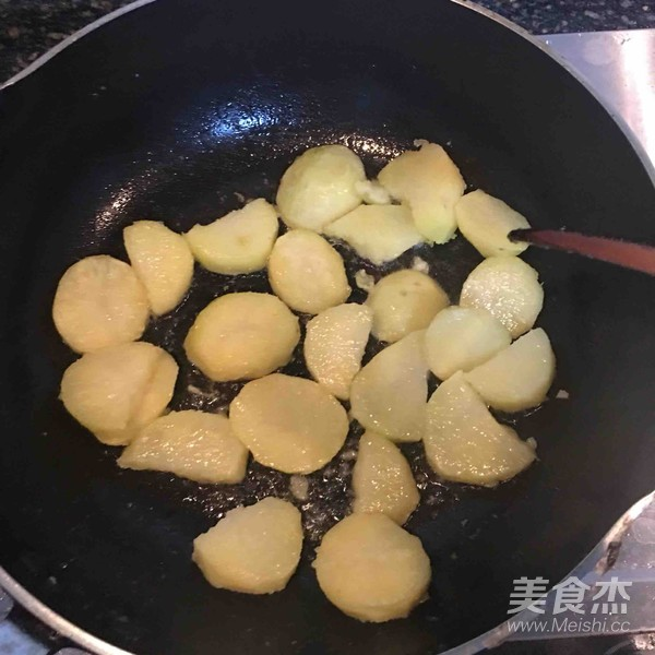 炸裂的大土豆的步骤