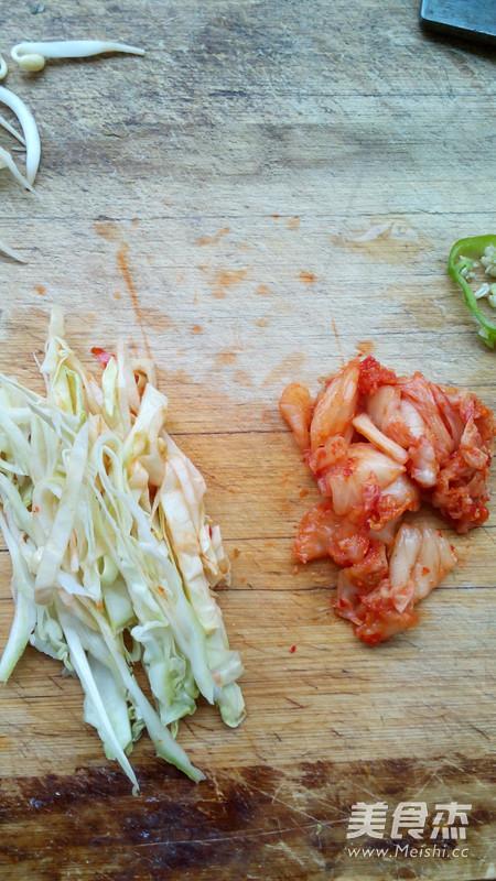 辣白菜炒饭的做法图解
