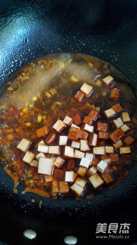 香辣豆干拌面怎么吃
