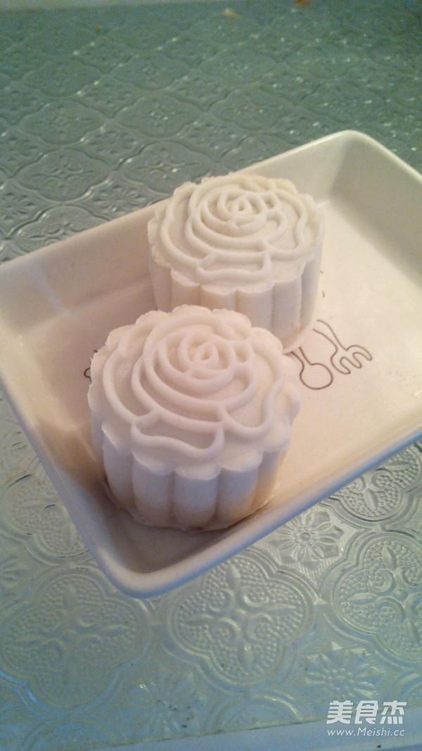 红豆豆沙冰皮月饼的制作方法