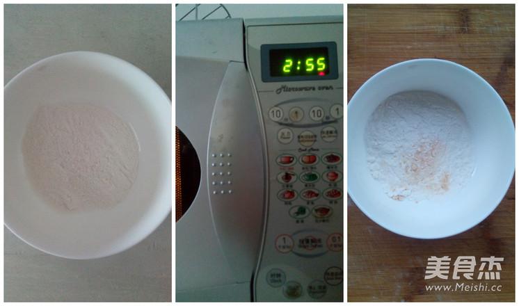 三色冰皮月饼的做法图解