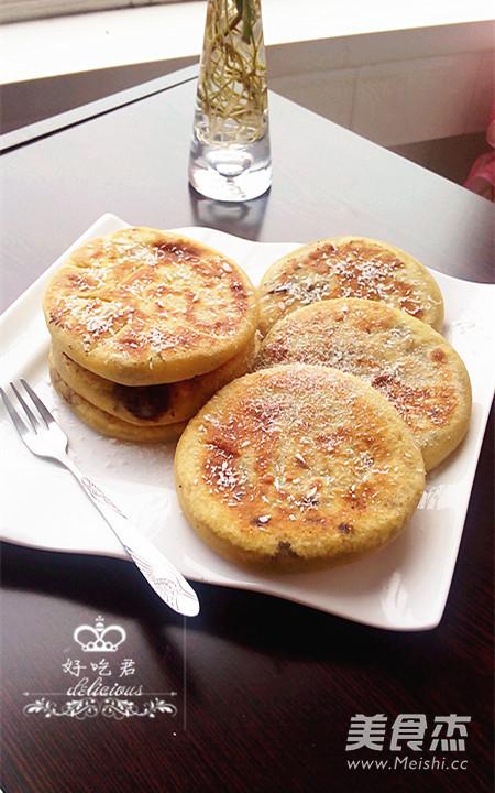 豆沙红薯饼怎样做
