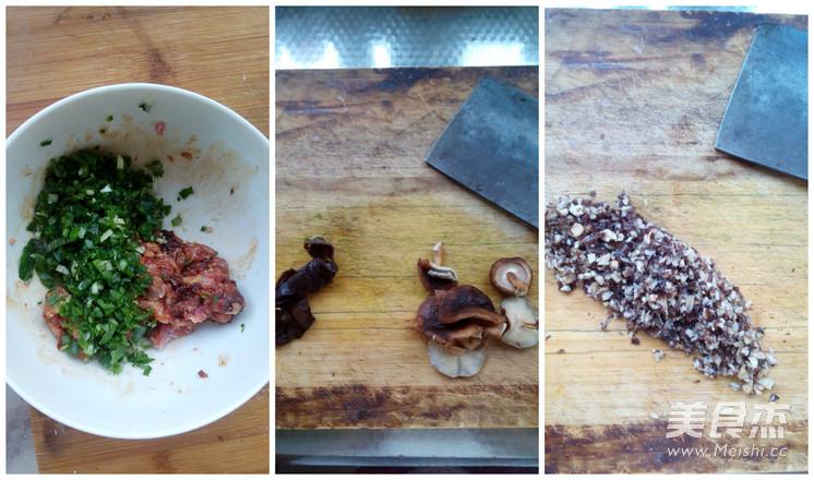 香菇木耳双色饺子怎么吃
