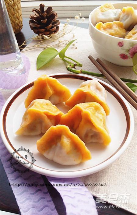 香菇木耳双色饺子怎样煸