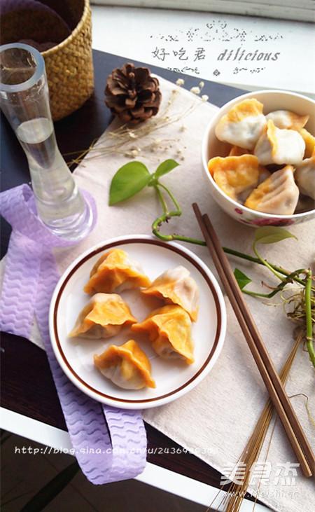 香菇木耳双色饺子怎么煸