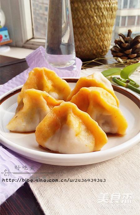 香菇木耳双色饺子怎样做