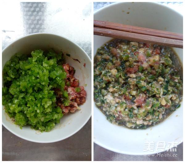 青椒猪肉饺子的家常做法