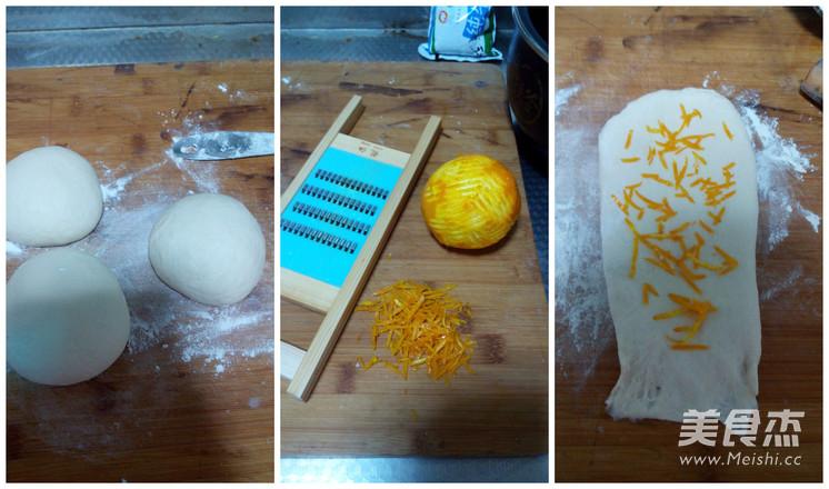 中种橙香吐司怎么做