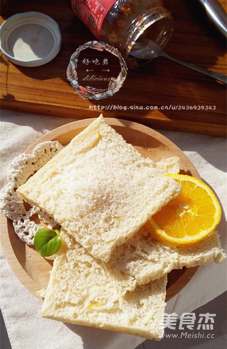 中种橙香吐司怎样做