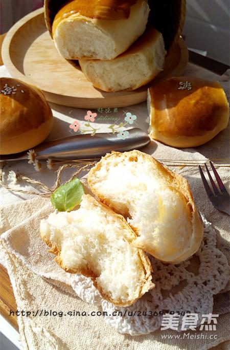 牛奶小面包的制作大全