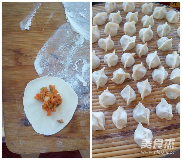 鸡汤胡萝卜饺子怎么炒