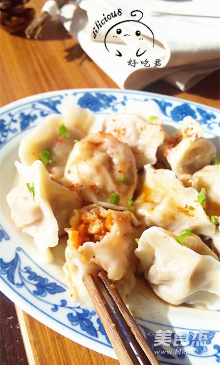 鸡汤胡萝卜饺子怎样做