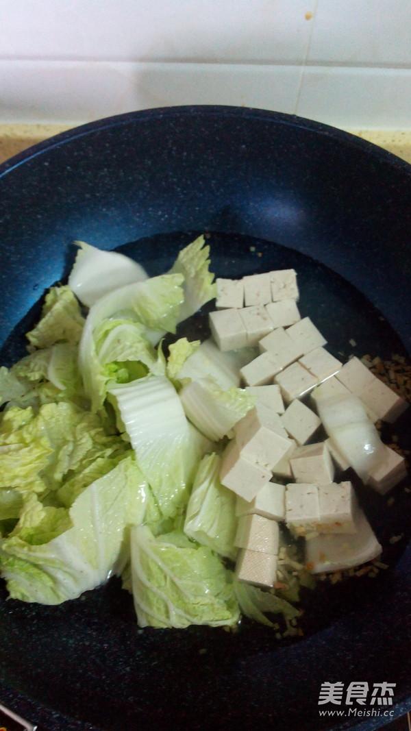 白菜炖豆腐的简单做法