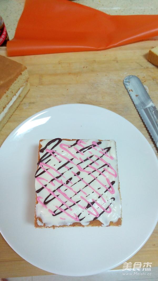 草莓原味小方的制作方法