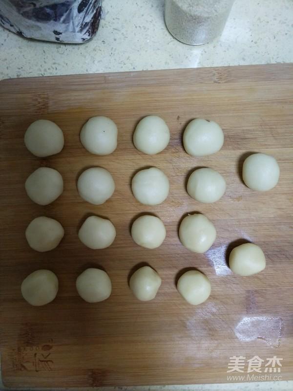 豆沙菊花酥怎么做