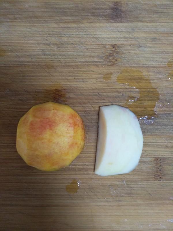 蜜桃柠檬清凉饮的做法图解