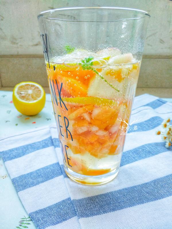 蜜桃柠檬清凉饮怎么炒