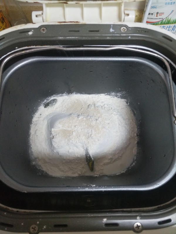 大白豆沙面包的做法图解