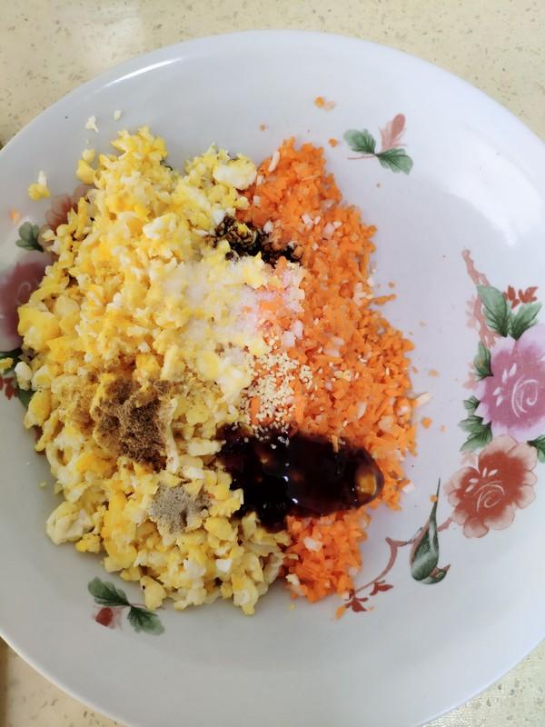 胡萝卜鸡蛋包的简单做法