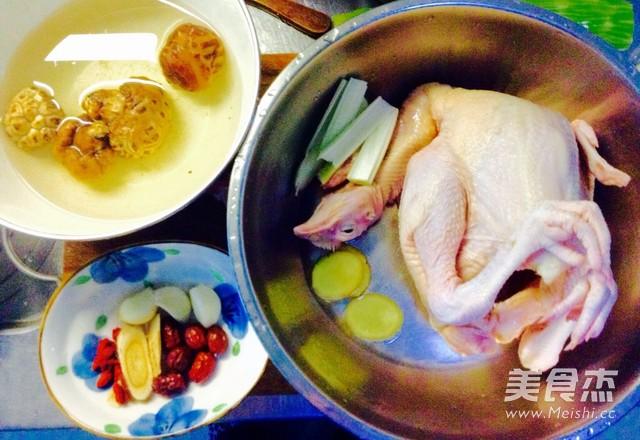 黄芪花菇炖童子鸡的做法大全