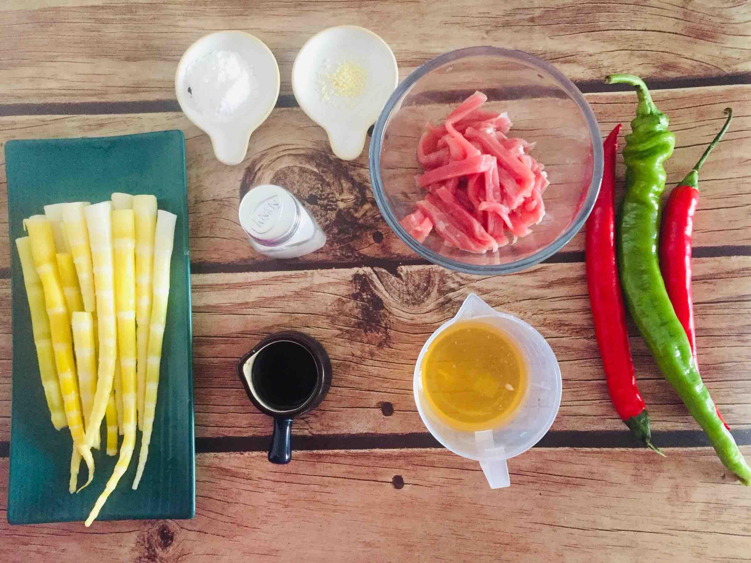 竹笋炒肉的做法大全