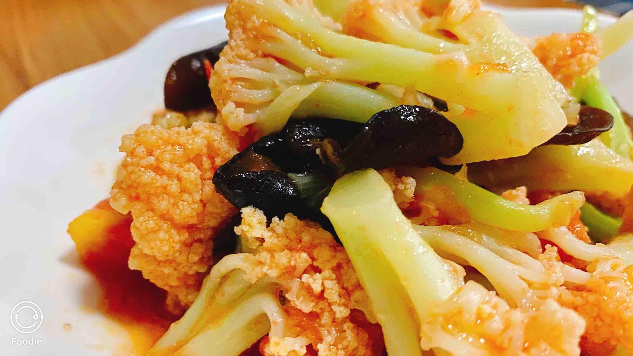 西红柿菜花怎么煮