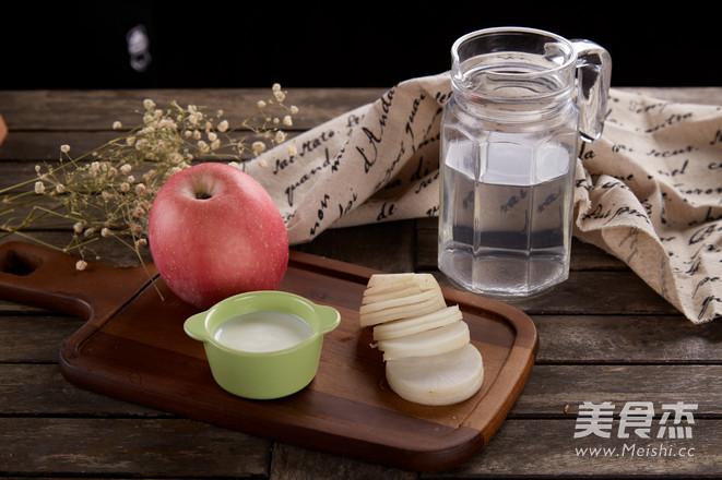 苹果白萝卜汁的做法大全