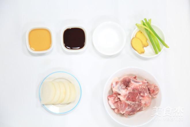 白萝卜排骨汤的做法大全