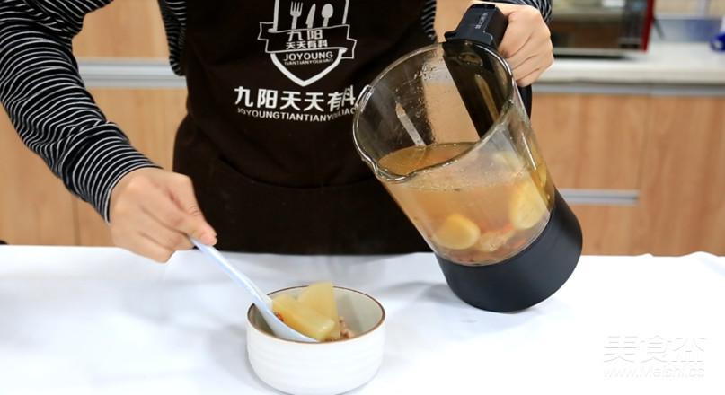 白萝卜排骨汤怎么吃