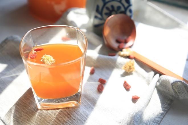 秋-枸杞名目茶的简单做法
