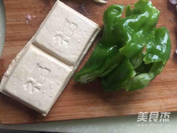 青椒肉丝豆腐干的做法大全