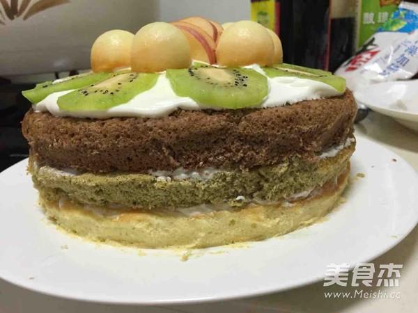 蛋糕怎么煸