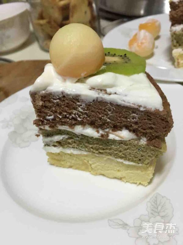 蛋糕怎样煸