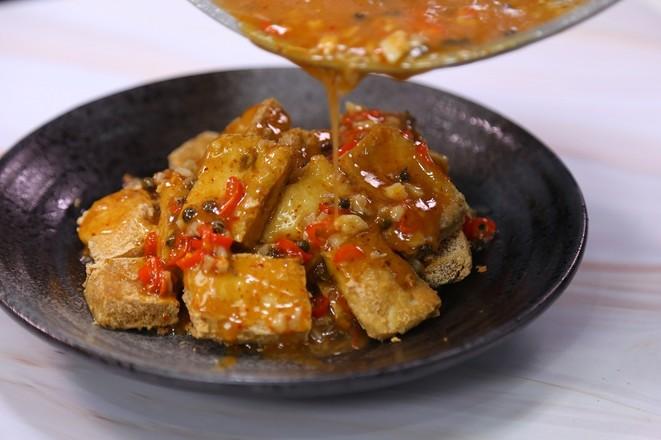 香汁臭豆腐的简单做法