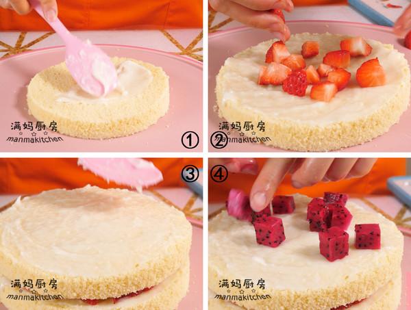 宝宝版本的生日蛋糕(无奶油)怎样煸