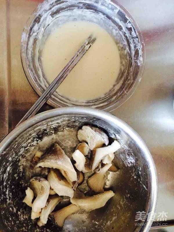干炸蘑菇的做法大全