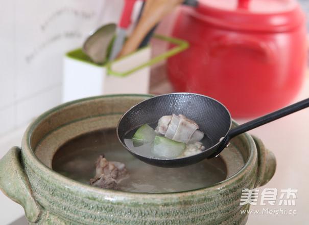 薏米冬瓜排骨汤怎么做