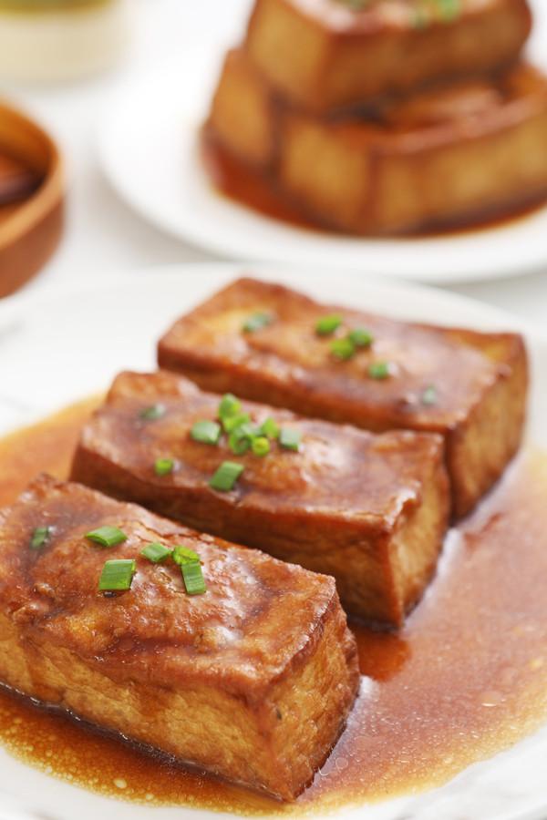 家常酿豆腐成品图