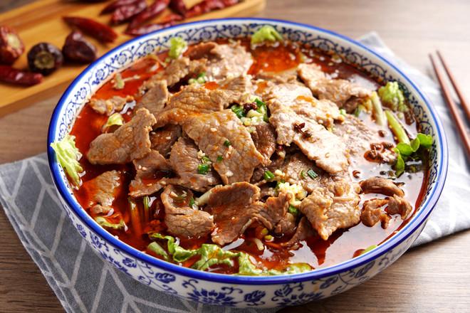 水煮牛肉【孔老师教做菜】成品图